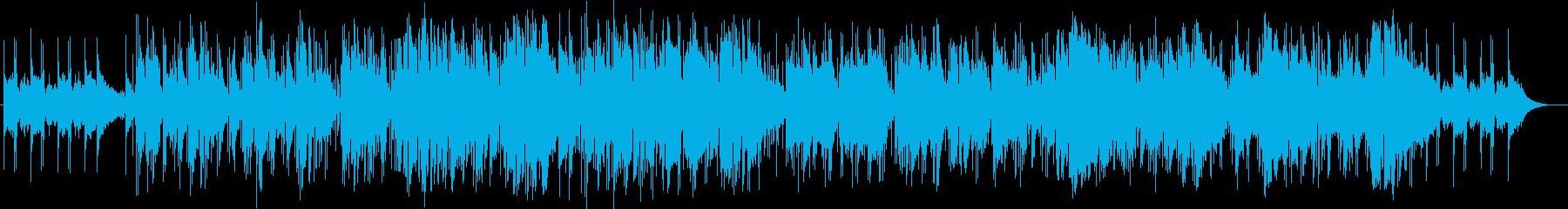 ハーモニカの音色が大人っぽいインスト曲の再生済みの波形