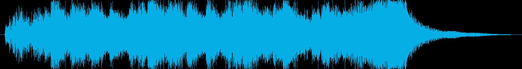 イベントオープニングジングルの再生済みの波形