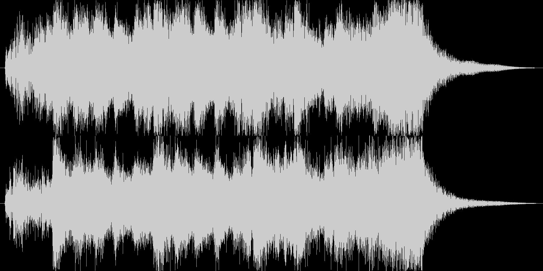 イベントオープニングジングルの未再生の波形