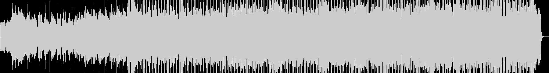 ゆったりとした感動的なバラードの未再生の波形