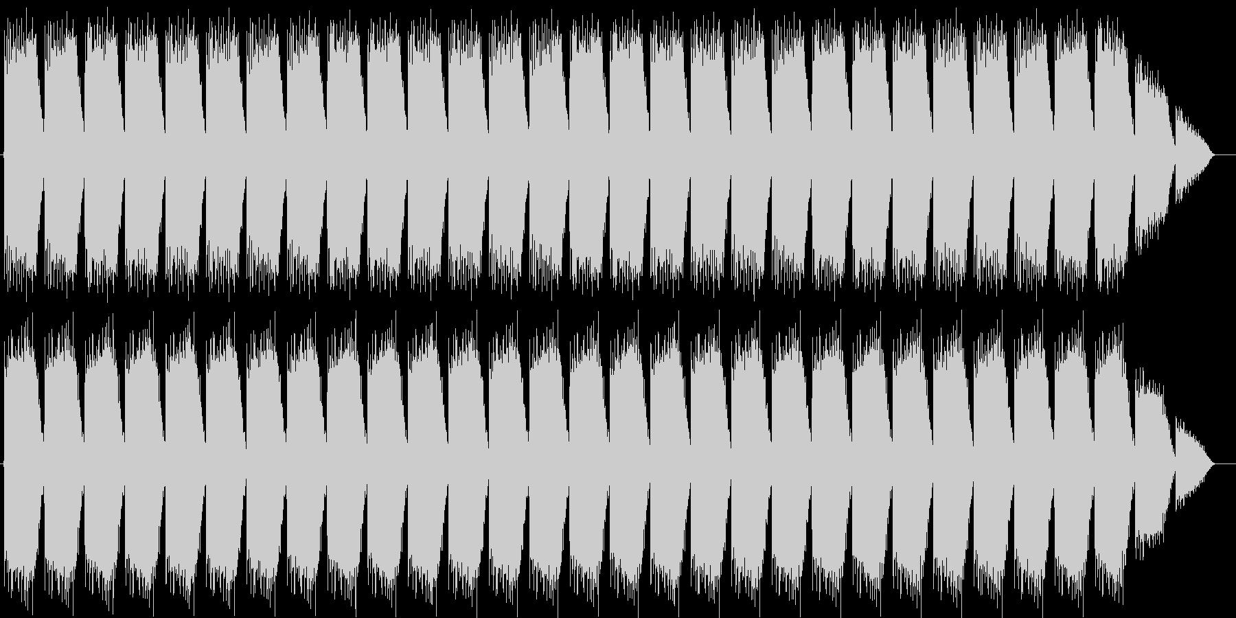 化学プラントサイレン タイプAの未再生の波形