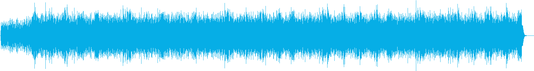 和風のユーロビート 疾走感 頭文字Dの再生済みの波形