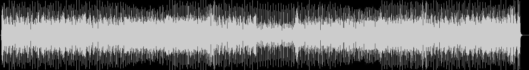ポップでリズミカルなシンセサウンドの未再生の波形