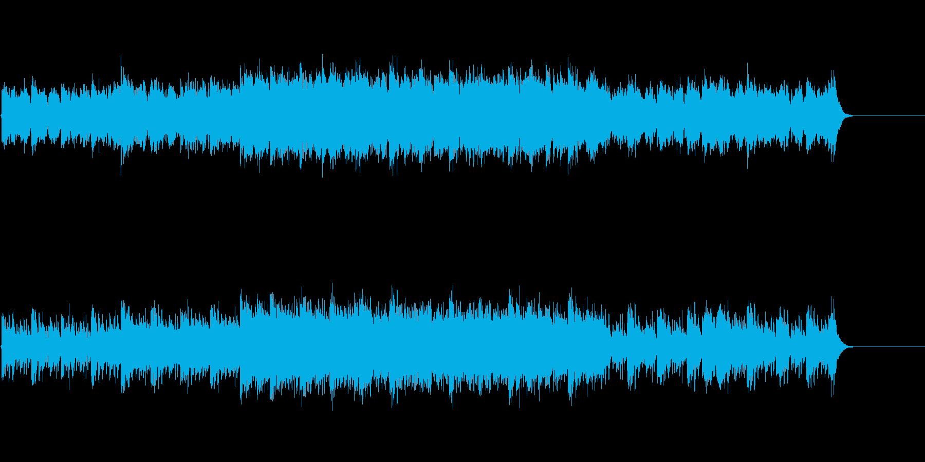 ドキュメント映像向け無機質なデジタルの再生済みの波形