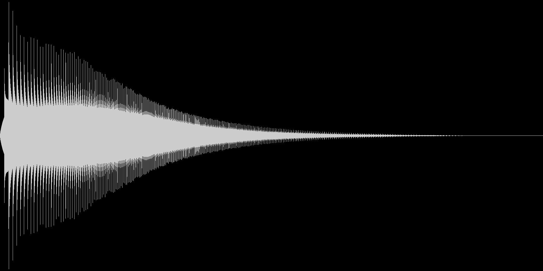 ジャンプ 1A 音程:低の未再生の波形