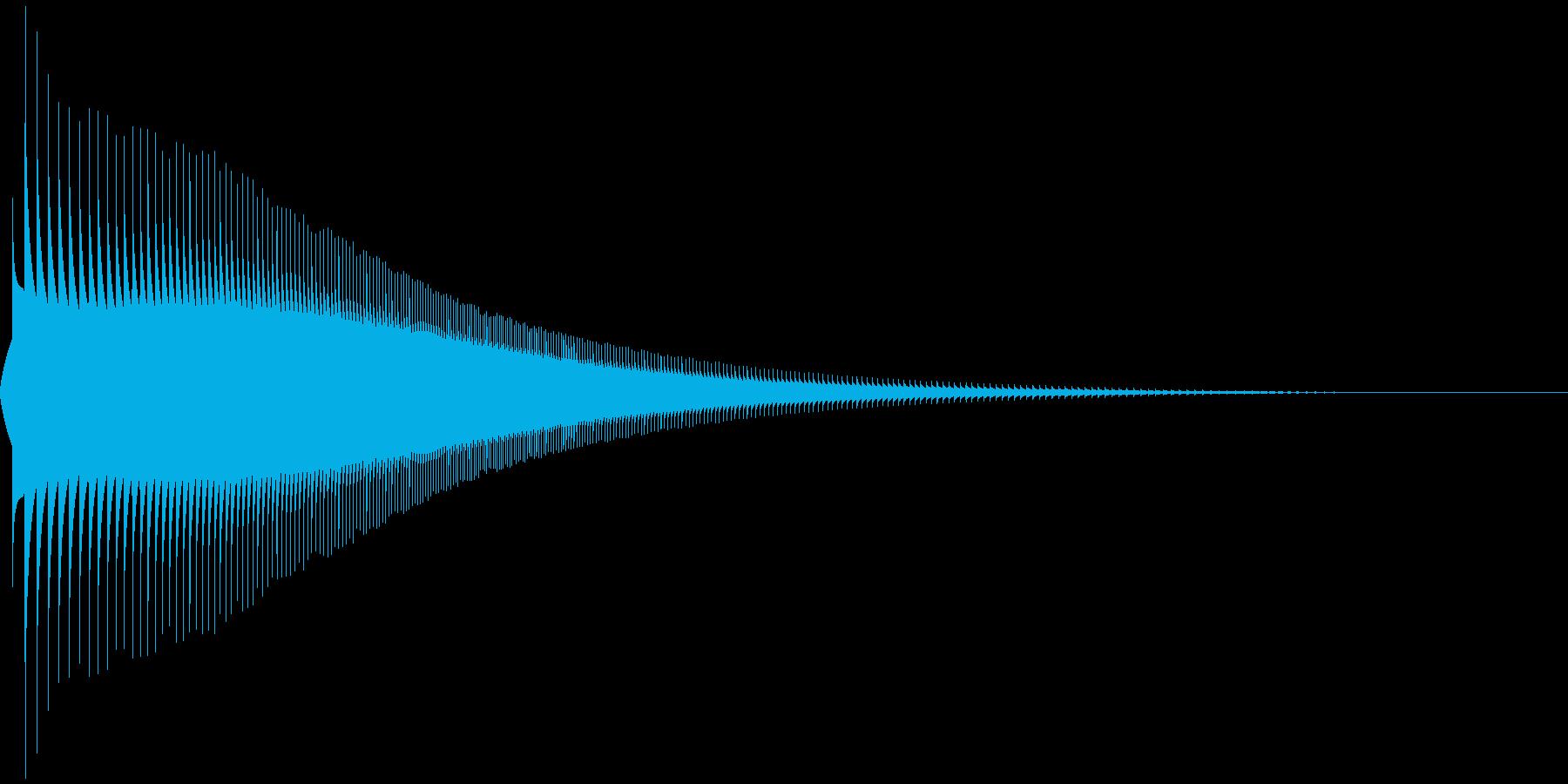 ジャンプ 1A 音程:低の再生済みの波形