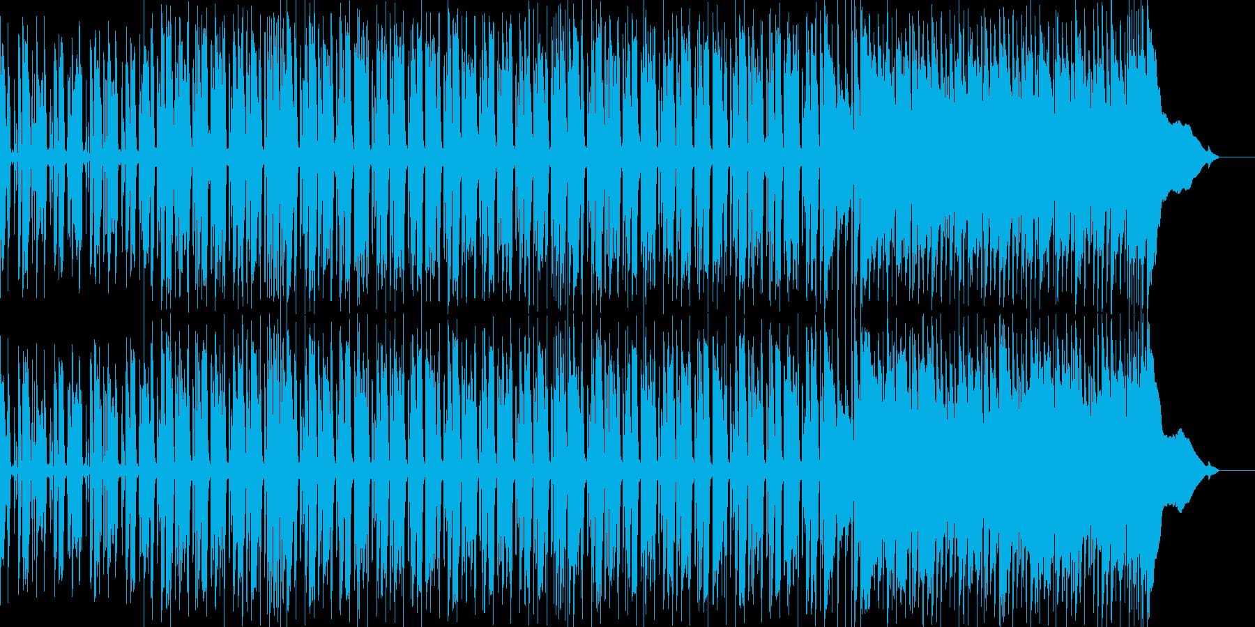 爽やかでほのぼのとしたギターポップスの再生済みの波形