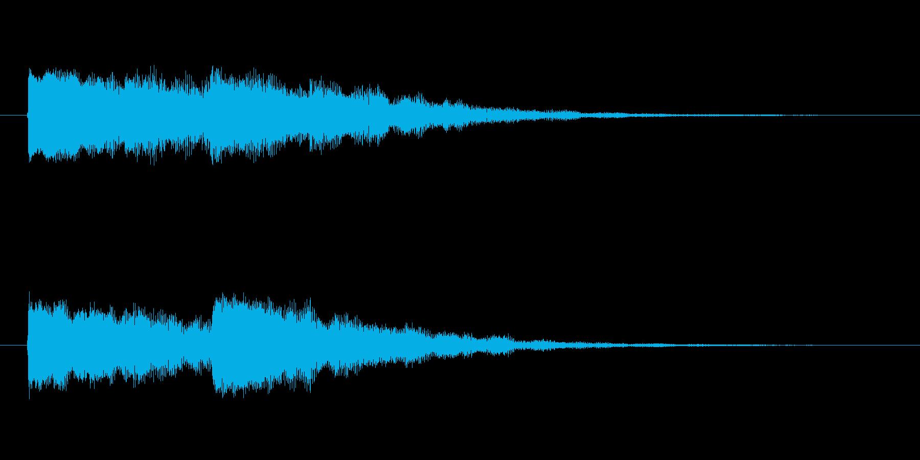 【起動音的な2】の再生済みの波形