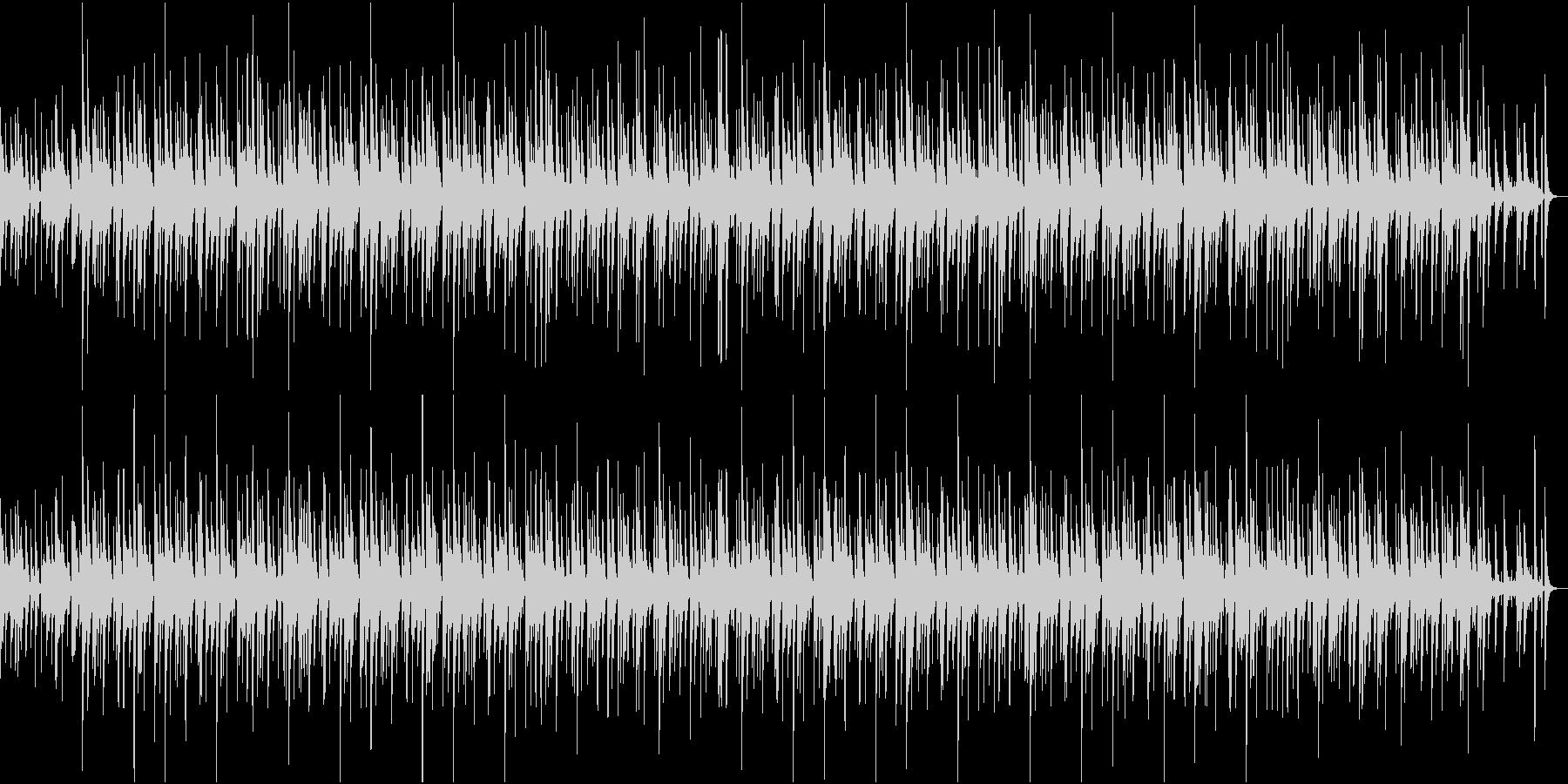 バラード調でゆったりしたジャズの未再生の波形