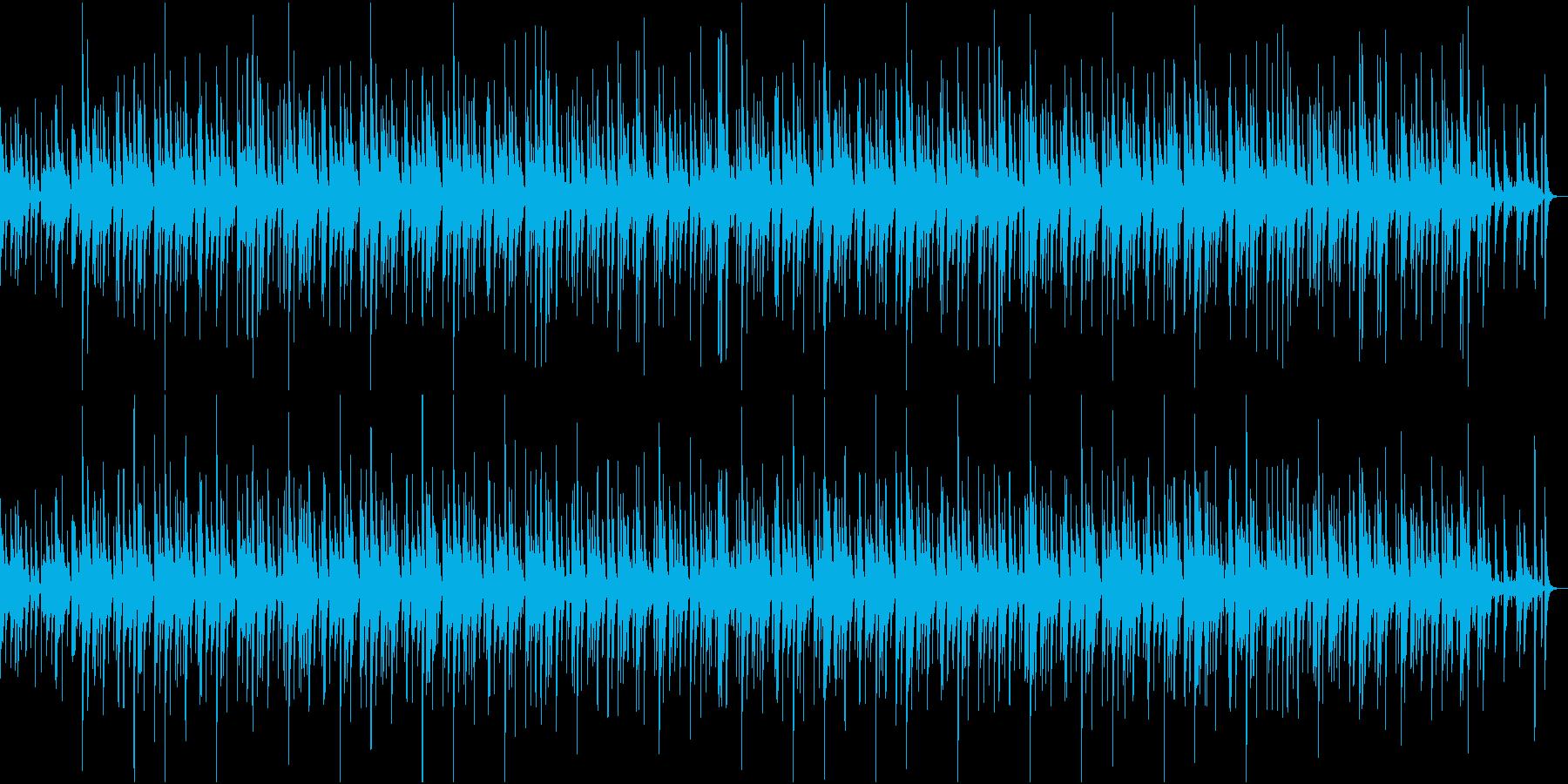バラード調でゆったりしたジャズの再生済みの波形