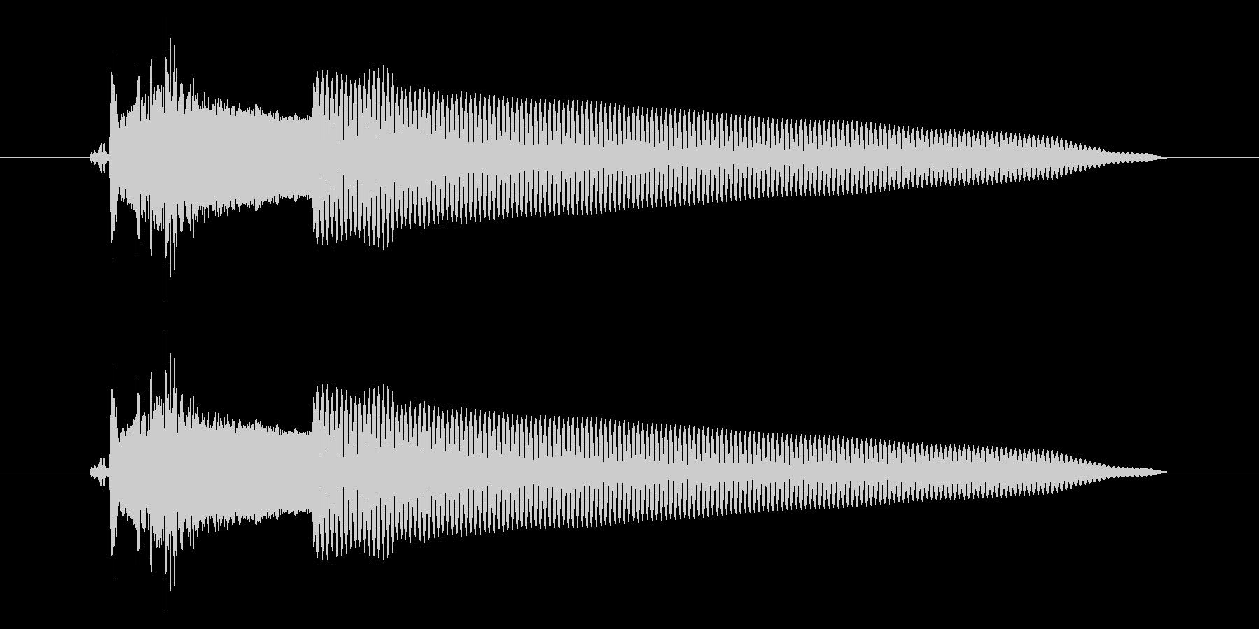 改札 アラーム01-2(音色2 フラップの未再生の波形