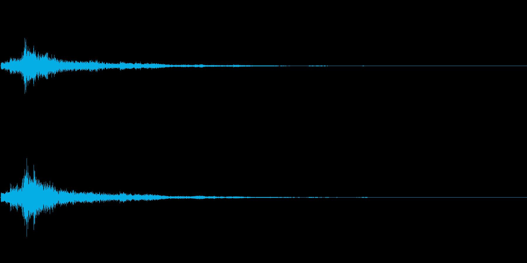シャン(クリスマス・鈴の音)の再生済みの波形