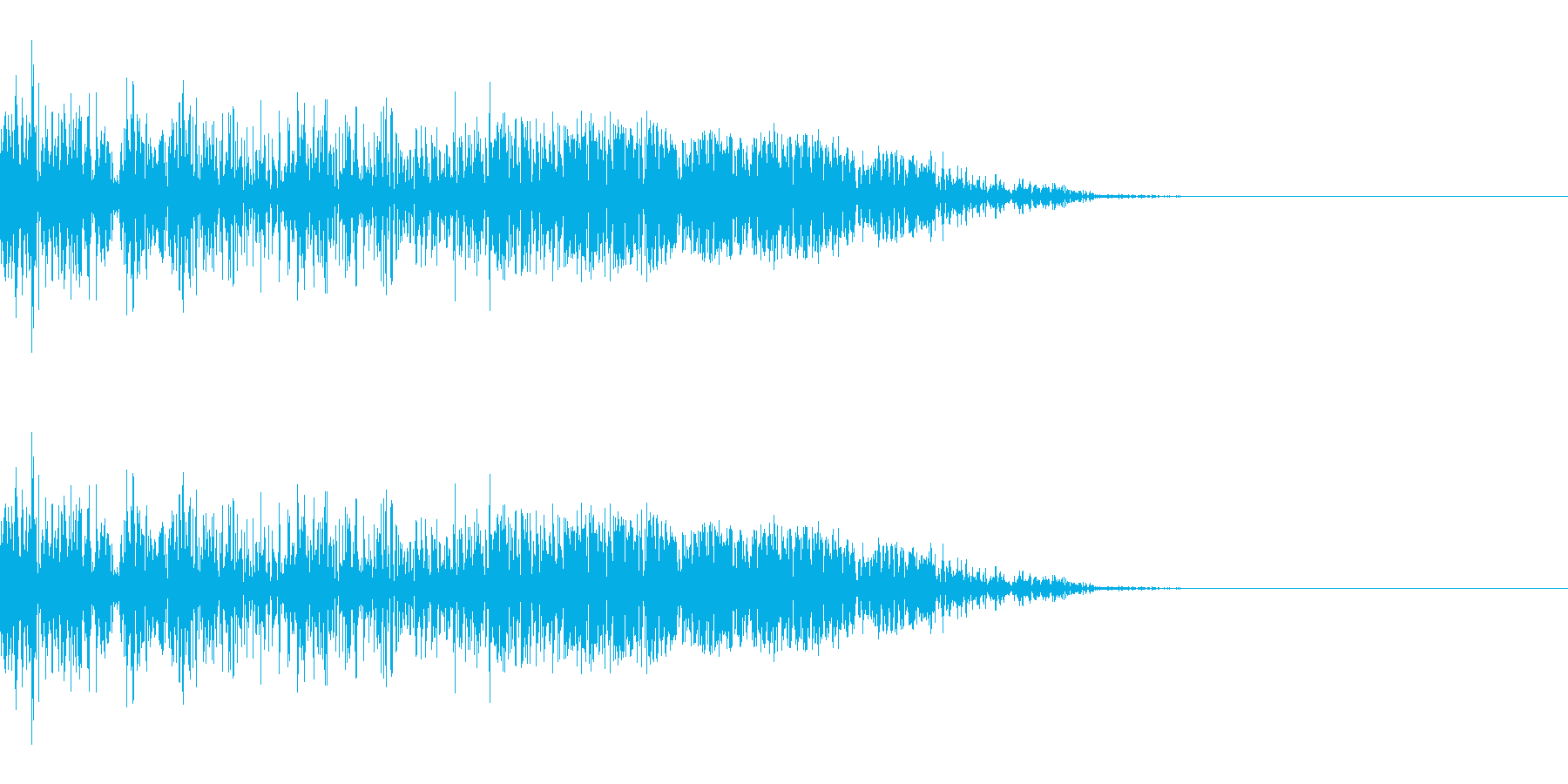 シュッ(スワイプ/斬撃/ゲーム)の再生済みの波形