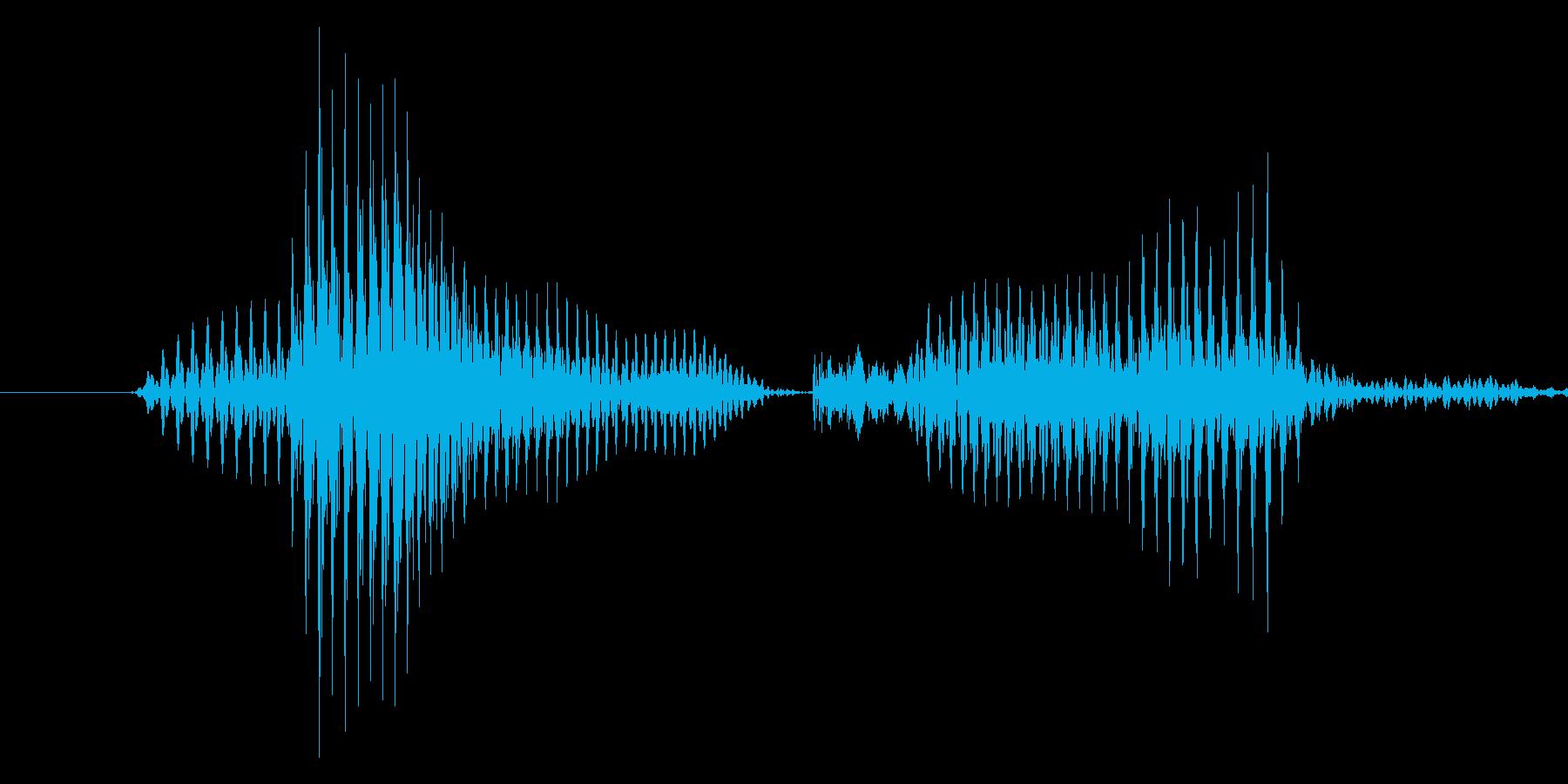 「9 PM」英語発音の再生済みの波形