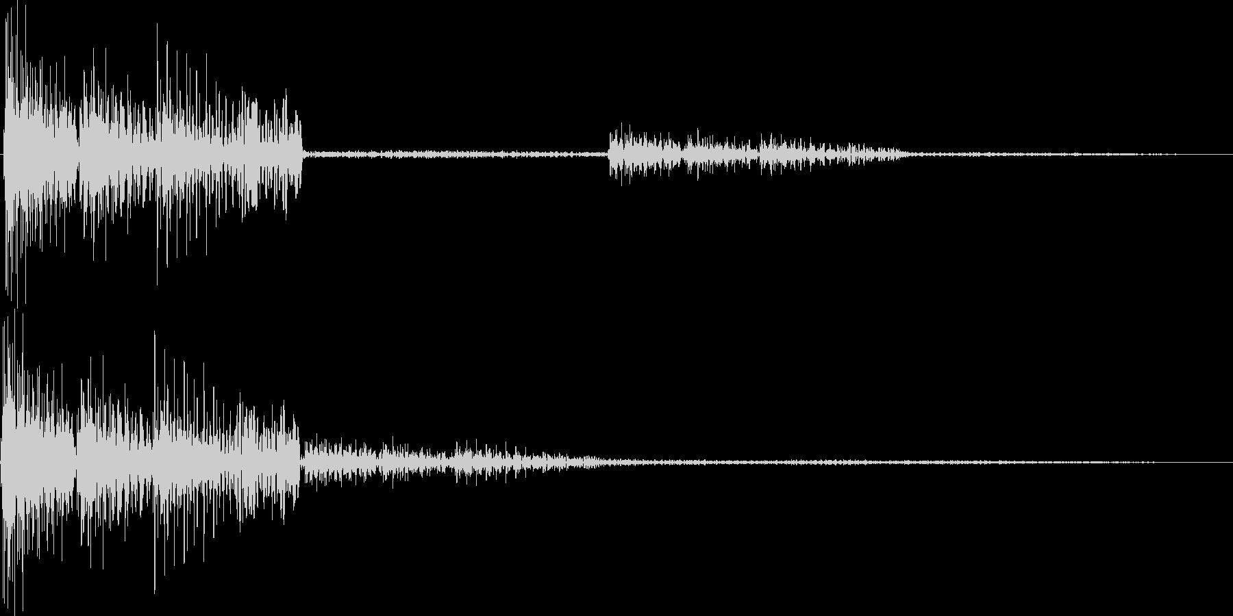 テロロロン(ミス、アウト、キャンセル)の未再生の波形
