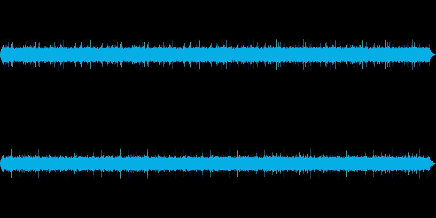 【雨 生録 環境02-1】の再生済みの波形