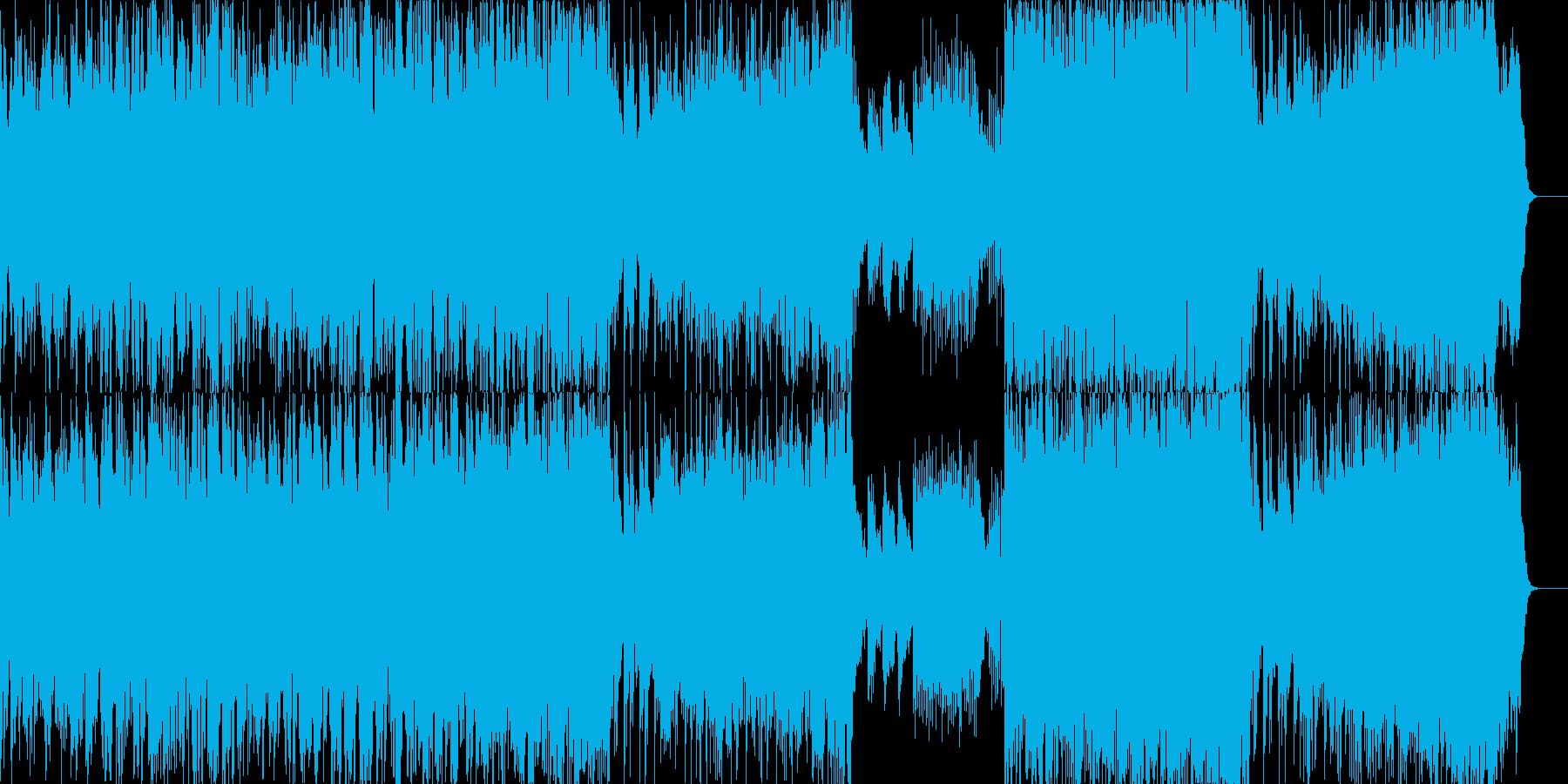 幻想的で心地よいバラードの再生済みの波形