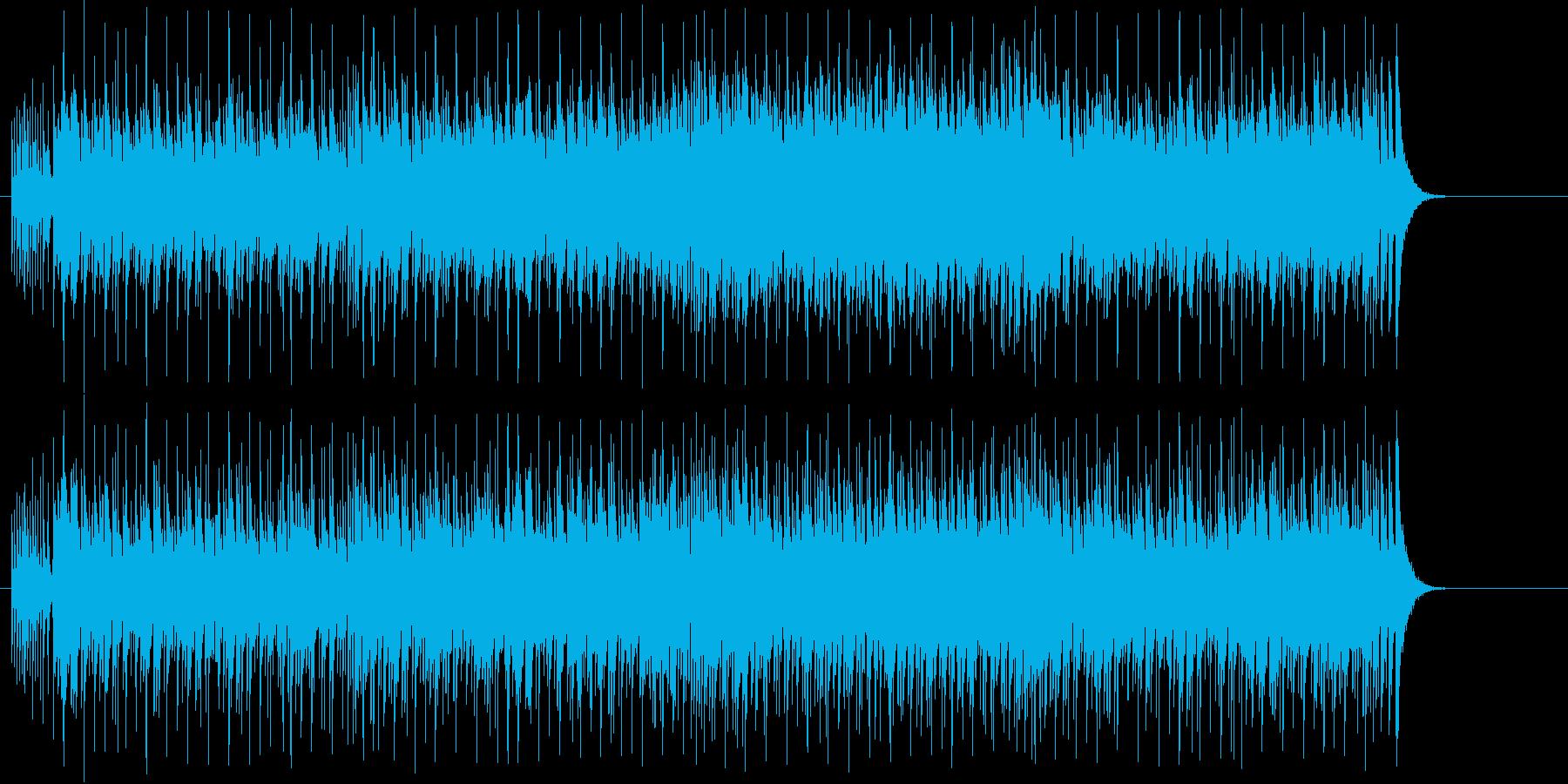 楽しいけど忙しいイメージの再生済みの波形