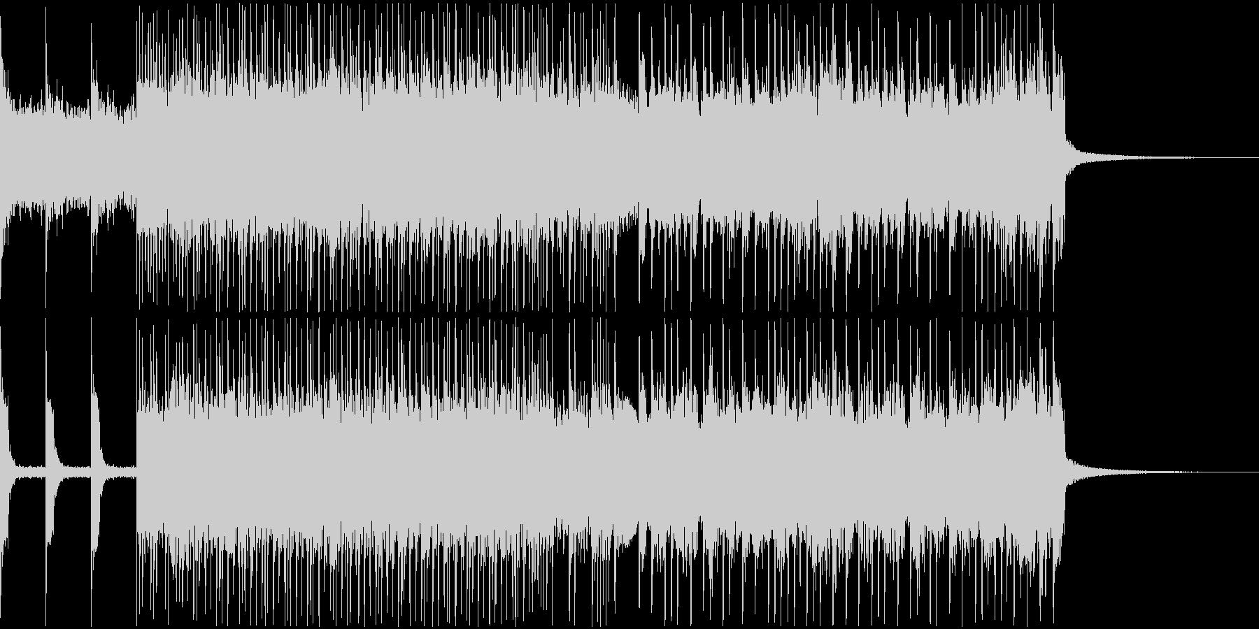 勢いとノリ重視のスラッシュリフジングルの未再生の波形