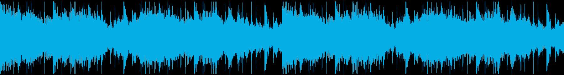 躍動感,オシャレCM、ループ3の再生済みの波形