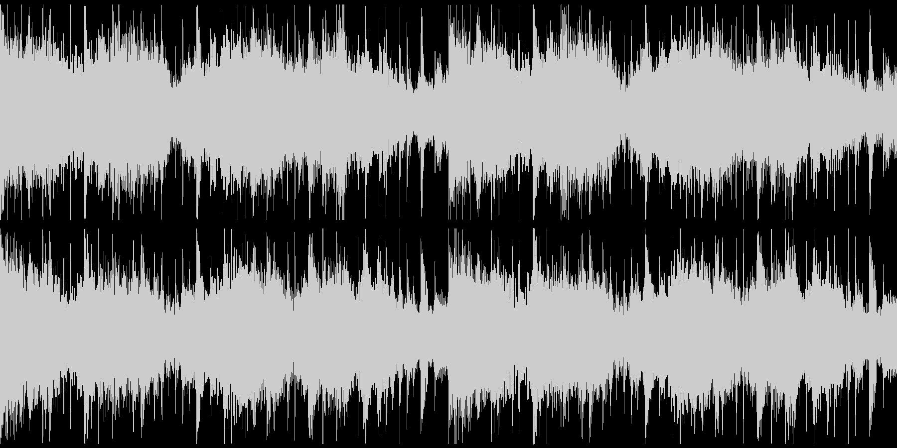 躍動感,オシャレCM、ループ3の未再生の波形