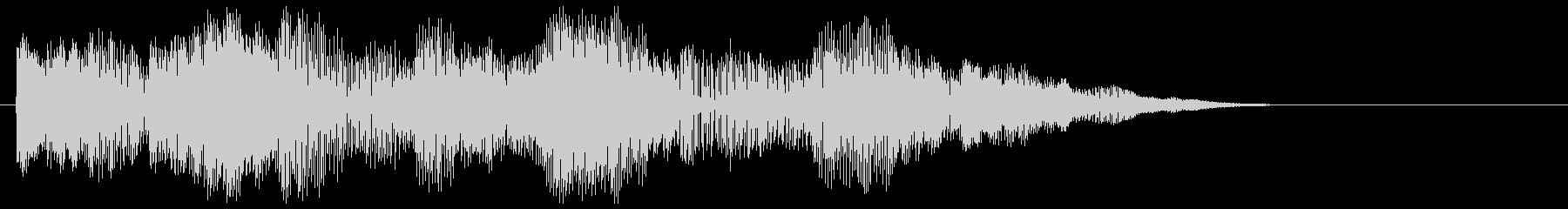【クイズ】テンションがあがる正解音ですの未再生の波形