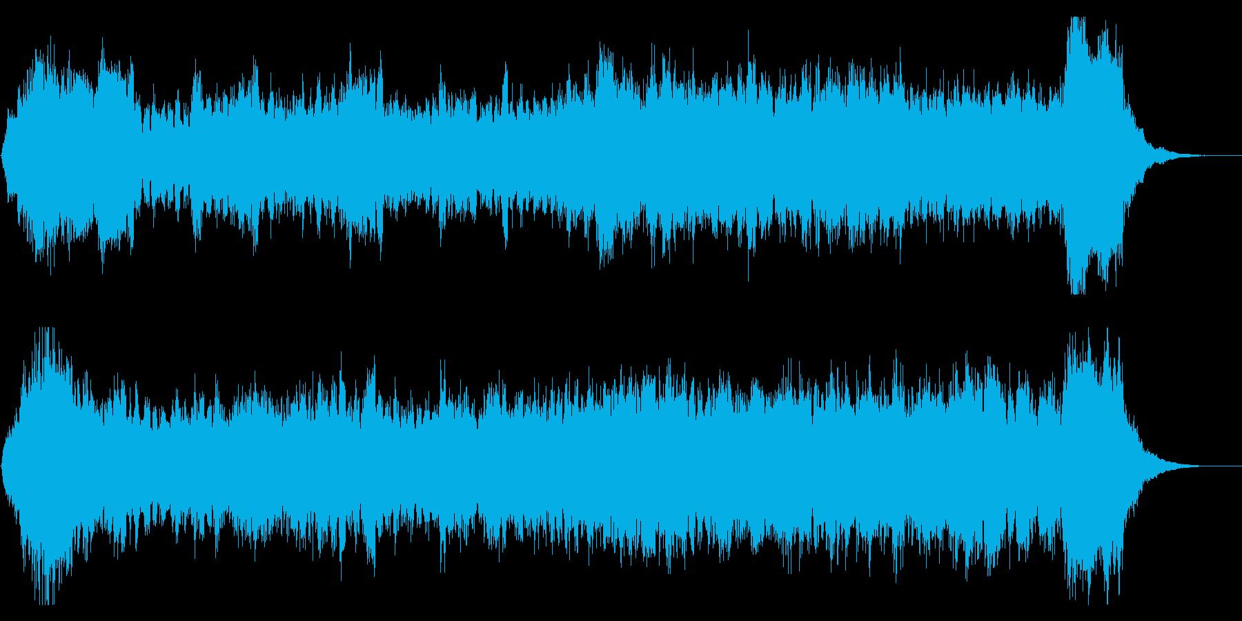 シリアスなハロウィン オープニングテーマの再生済みの波形