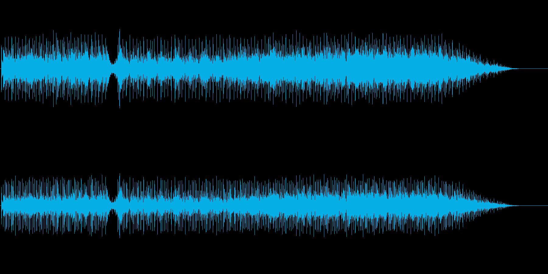 オープニング向きフュージョンの再生済みの波形