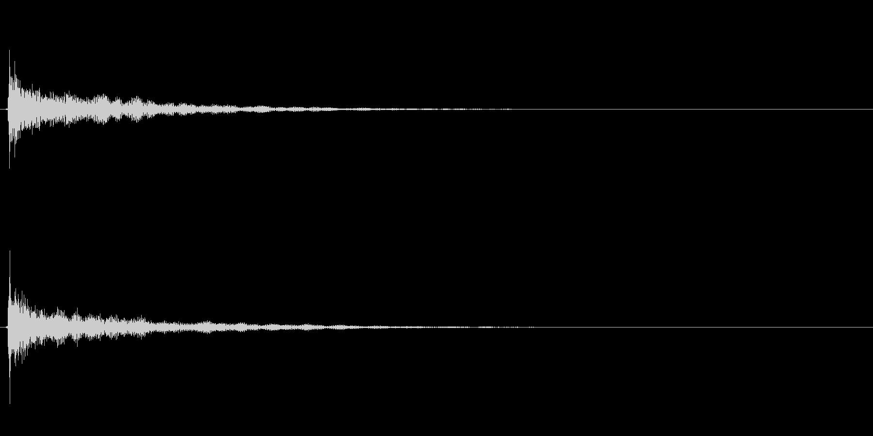 キラキラ系_092の未再生の波形