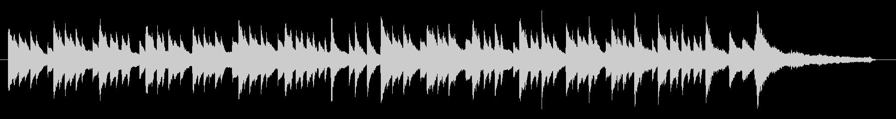 場面展開にも使える切ないピアノ曲の未再生の波形