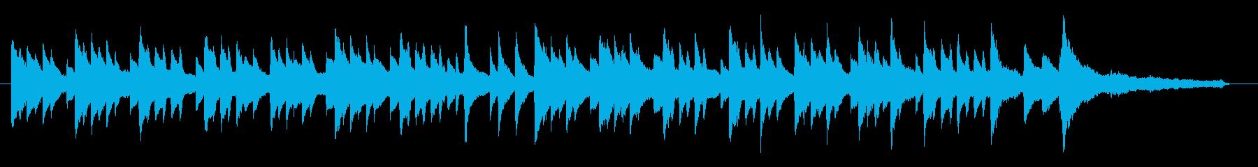 場面展開にも使える切ないピアノ曲の再生済みの波形