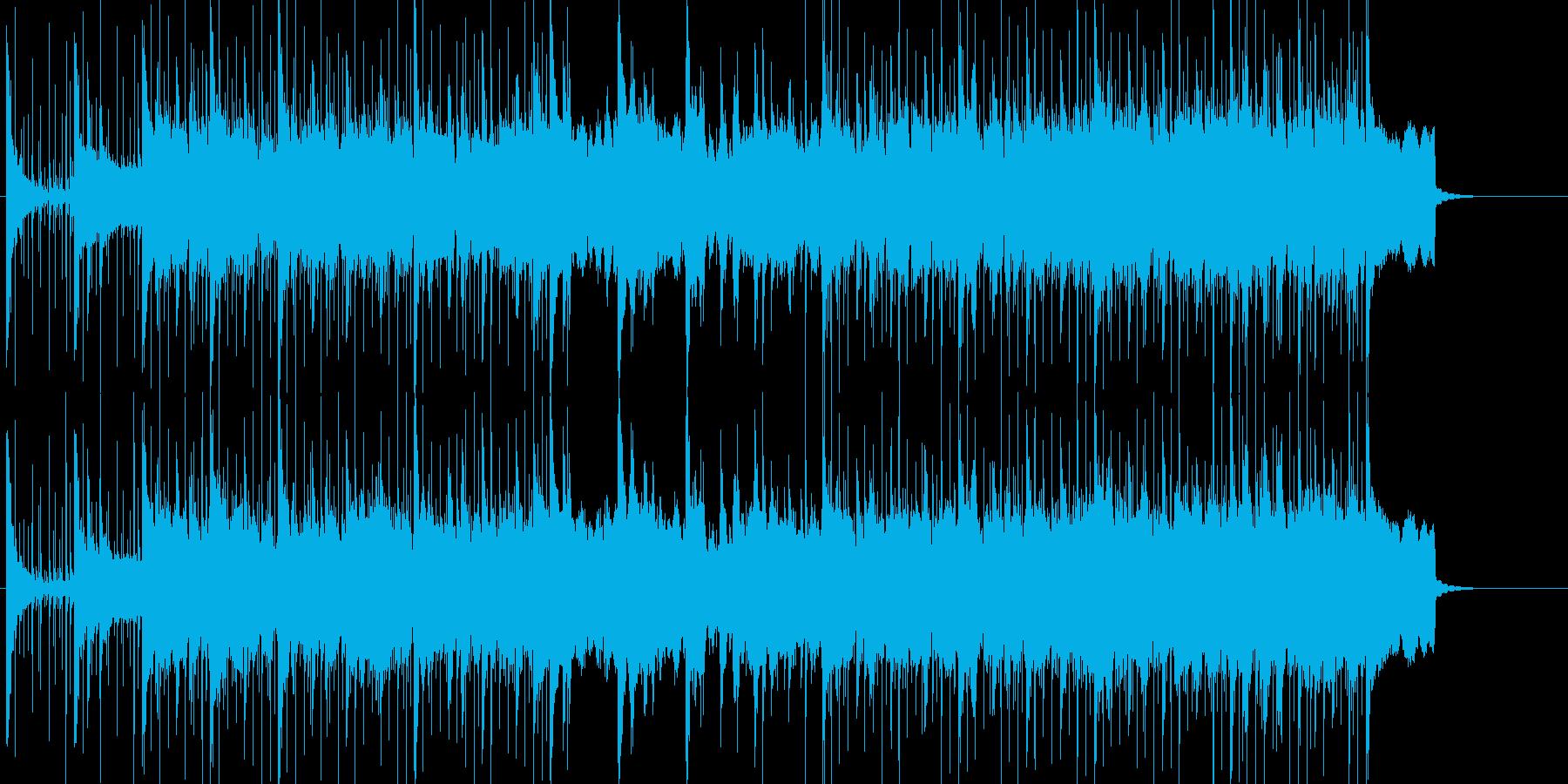 あやしい 緊張 スリル 科学 雑踏の再生済みの波形