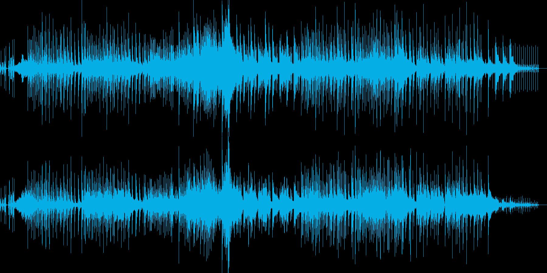 癒:時計の音で夜の静寂をイメージした曲の再生済みの波形