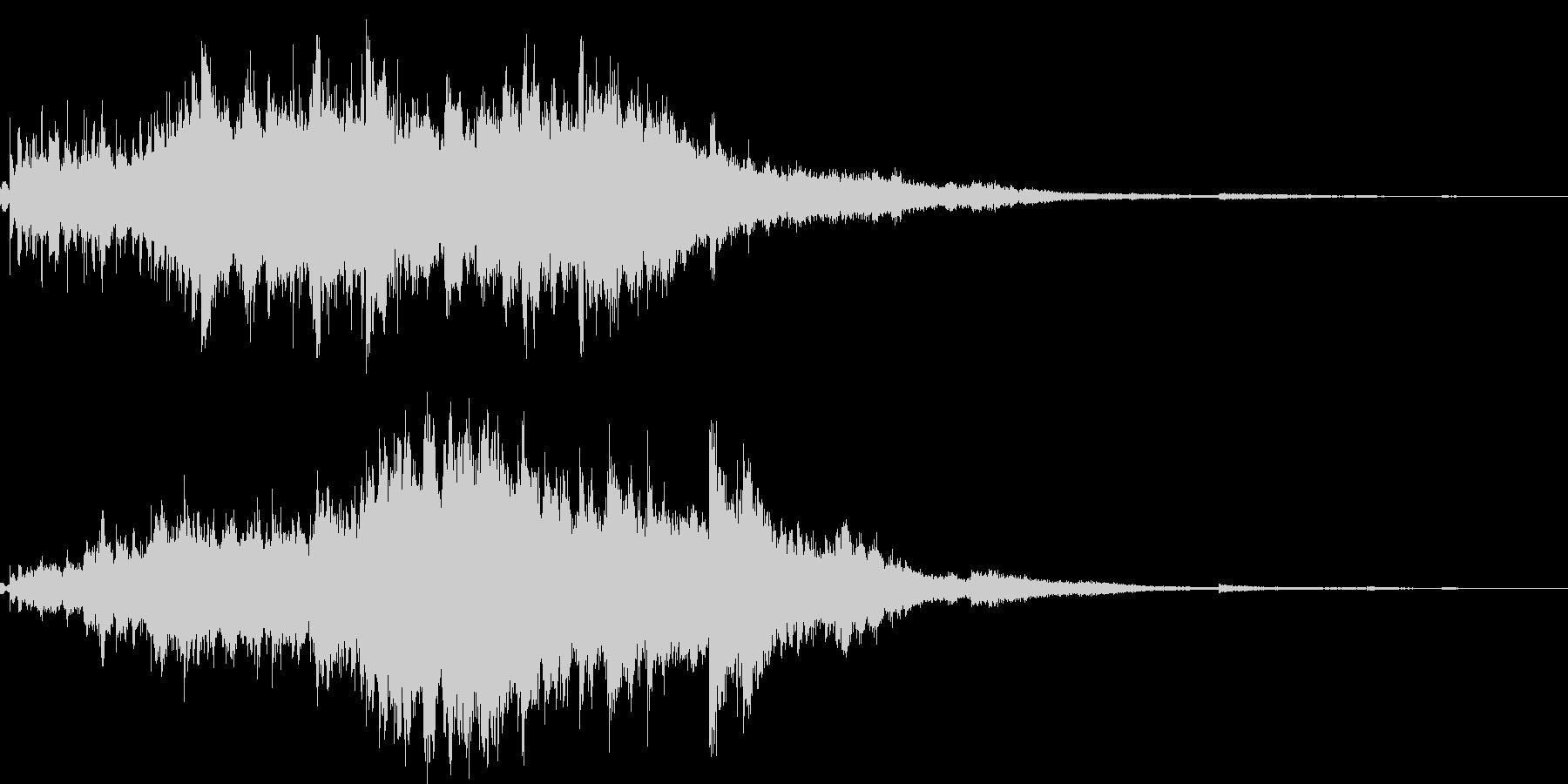 素敵な演出に綺麗なキラキラ音5(長め)の未再生の波形
