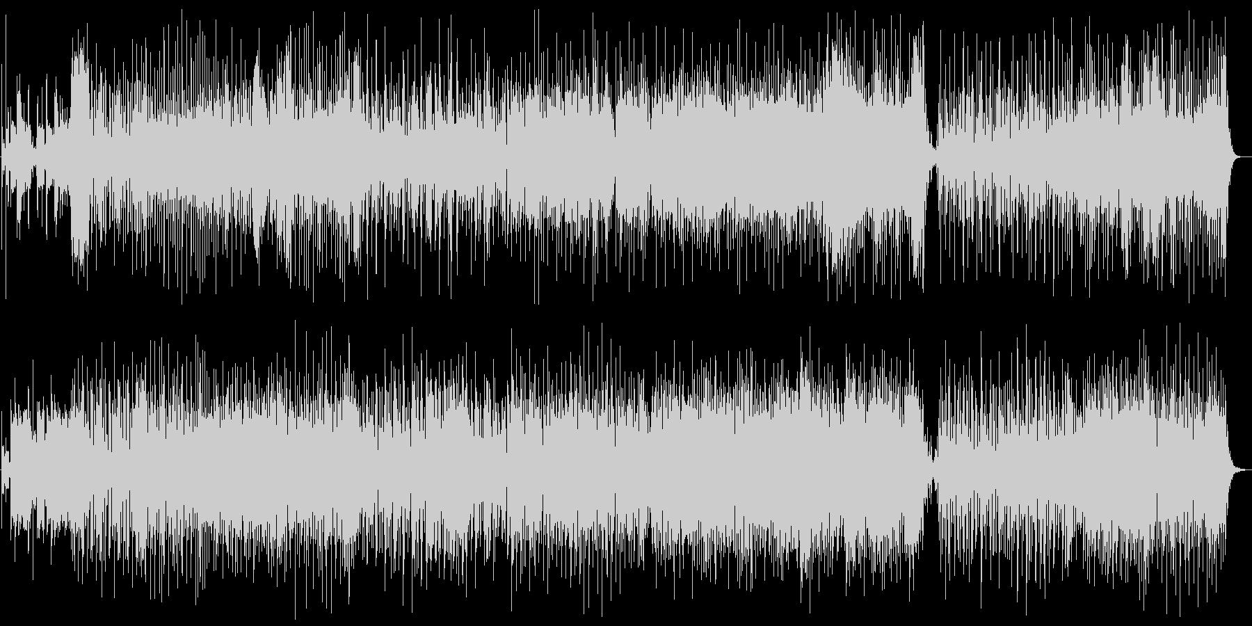 明るくメルヘンなシンセサイザーサウンドの未再生の波形