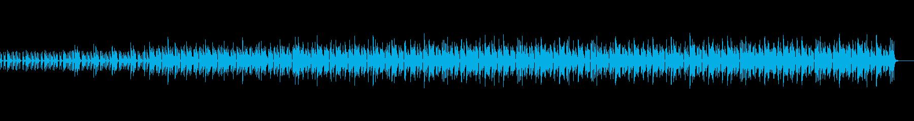 メロディにピアノやアコギを使用したサンバの再生済みの波形