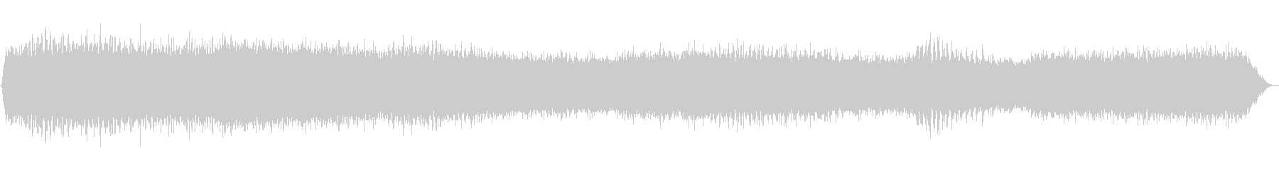 ヒグラシとアブラゼミの鳴き声(セミ、夏)の未再生の波形
