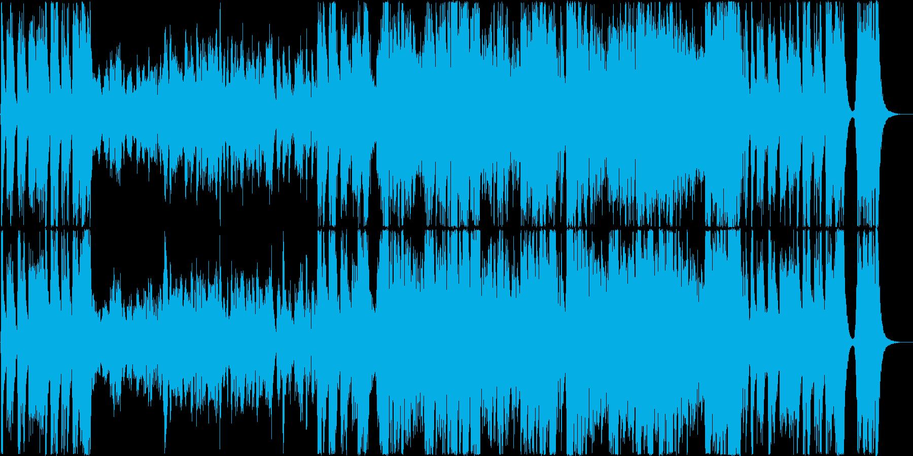 ダークファンタジー&造語多重コーラス系の再生済みの波形