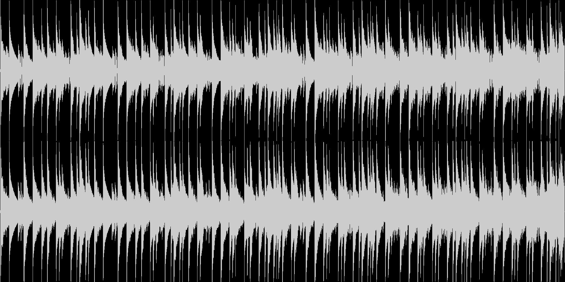 8bitチューンのRPG風フィールド用1の未再生の波形