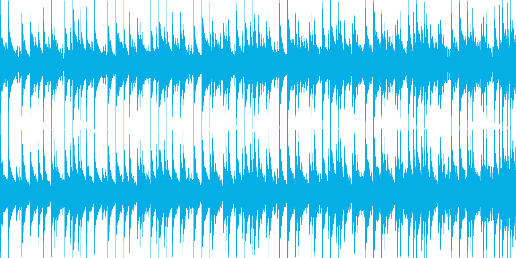 8bitチューンのRPG風フィールド用1の再生済みの波形