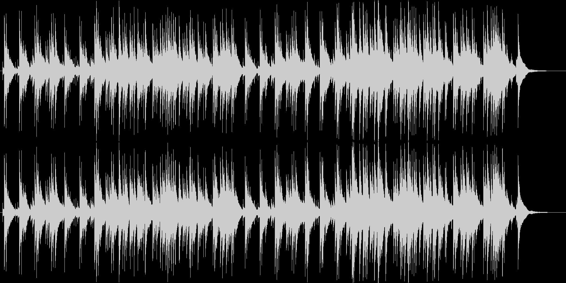 有名クリスマス曲・オルゴールアレンジの未再生の波形