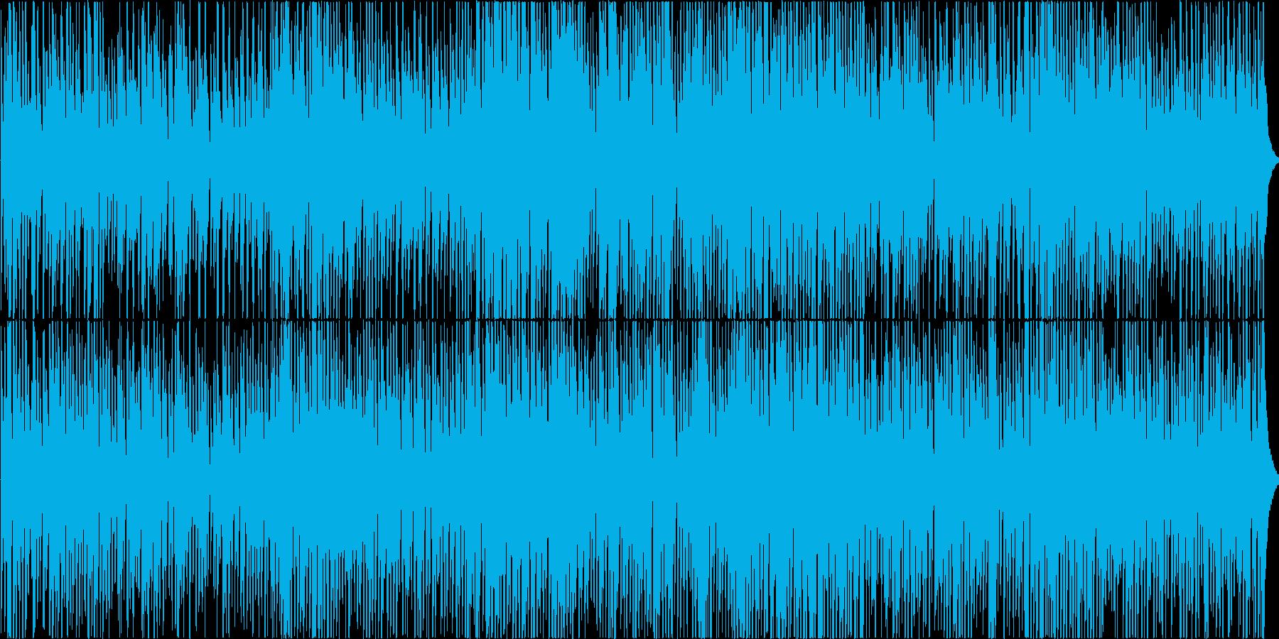 ちょっと怪しいジャズの再生済みの波形