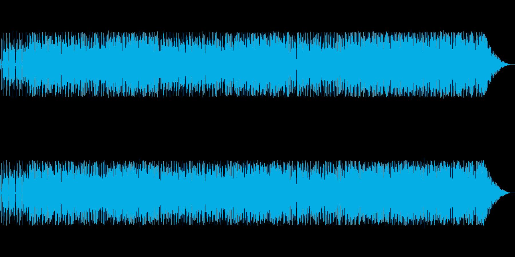 夕陽の島のイメージの再生済みの波形