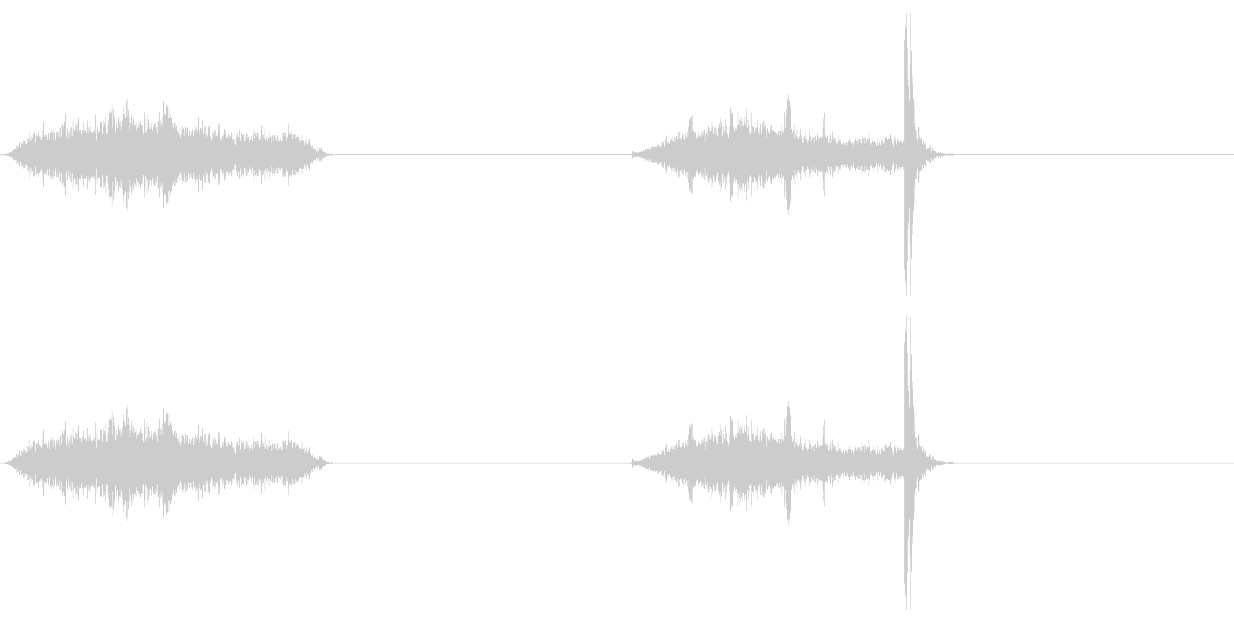 襖・障子の開閉2(普通)の未再生の波形