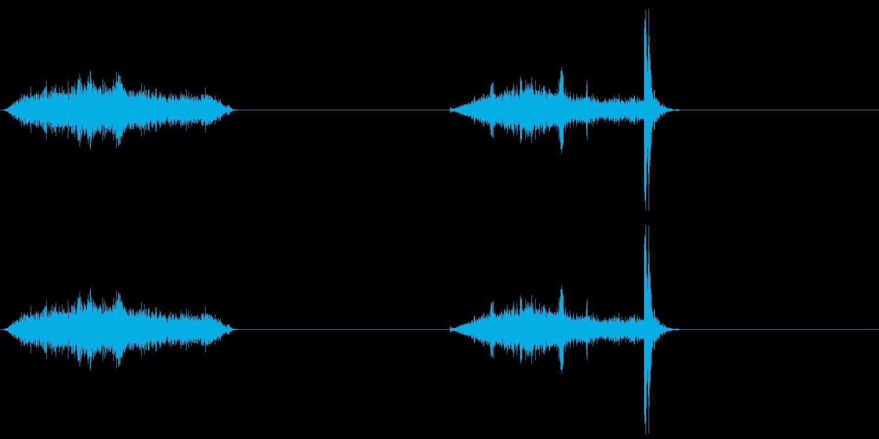 襖・障子の開閉2(普通)の再生済みの波形