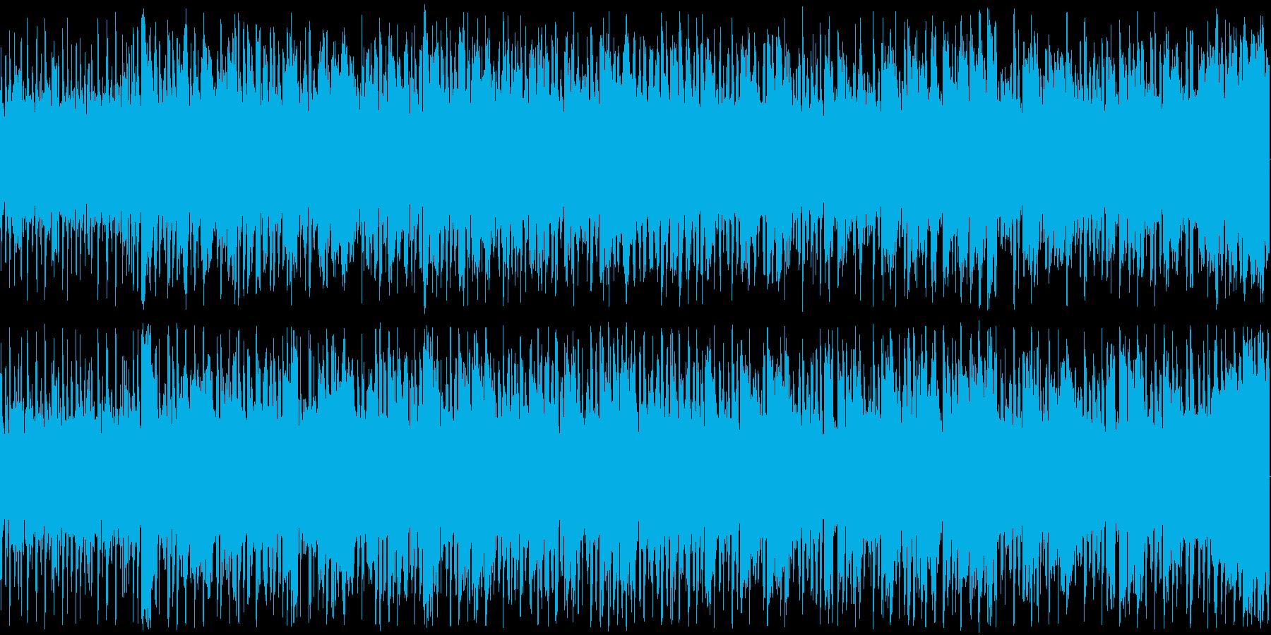 楽しくコミカルな雰囲気のBGMですの再生済みの波形