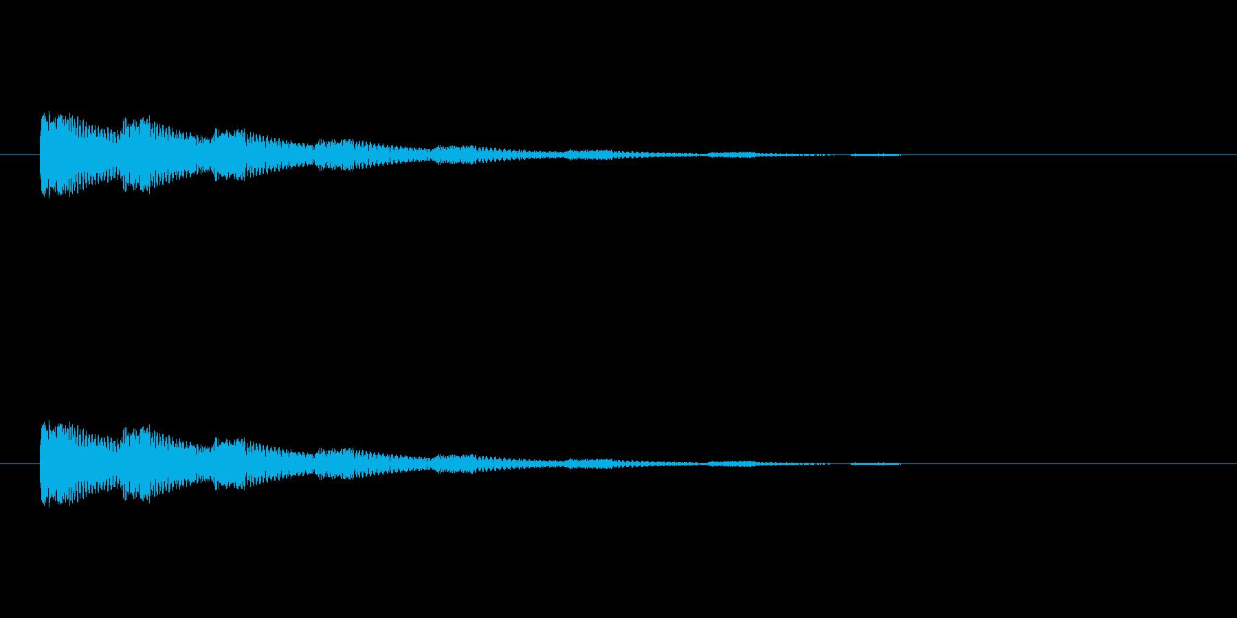 【ネガティブ06-3】の再生済みの波形