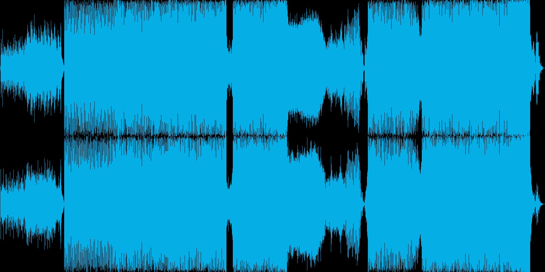 和風テクノです。ハウス調にもなっていま…の再生済みの波形