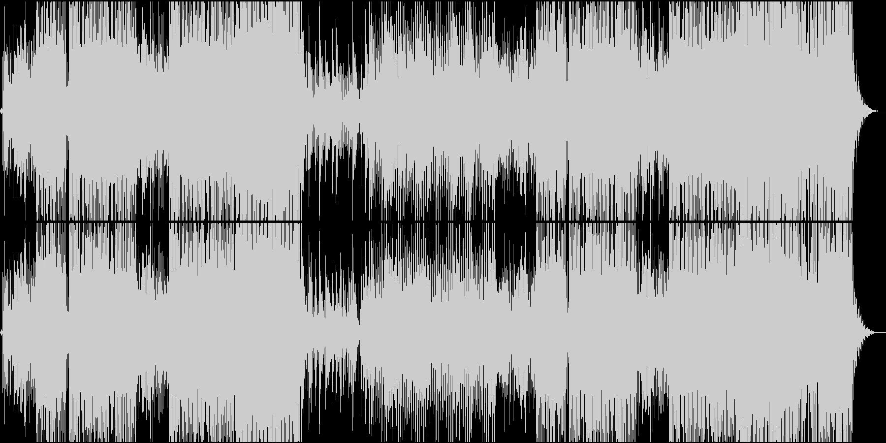 ピチカートファイヴ系爽やかで楽しいEDMの未再生の波形