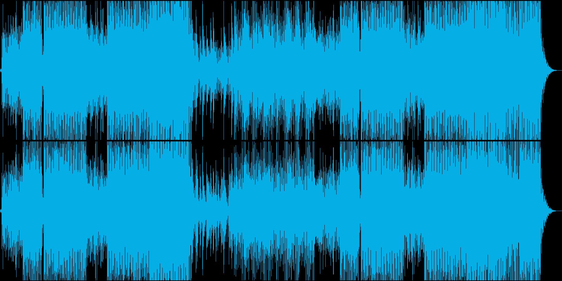 ピチカートファイヴ系爽やかで楽しいEDMの再生済みの波形